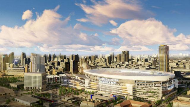 Chargers Stadium Rendering