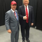 Papa Doug and Donald Trump